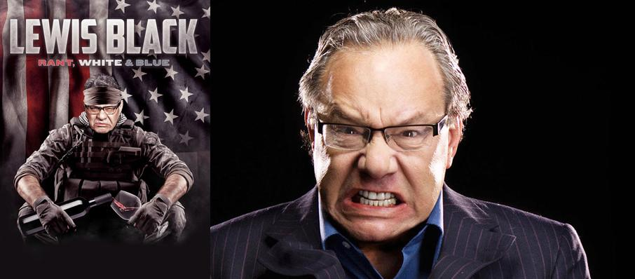 Lewis Black at Ruth Finley Person Theater