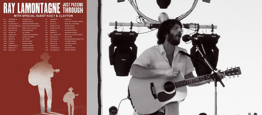 Ray LaMontagne at Fox Theatre Oakland