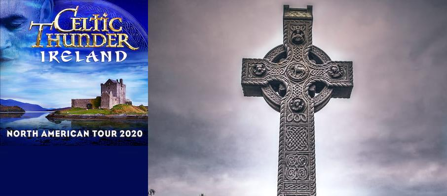 Celtic Thunder at Ruth Finley Person Theater