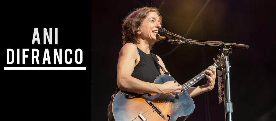 Ani DiFranco at McNear's Mystic Theatre