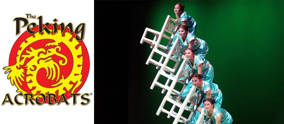 Peking Acrobats at Ruth Finley Person Theater