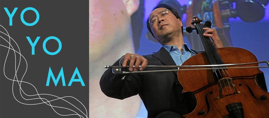 Yo-Yo Ma at The Greek Theatre Berkley