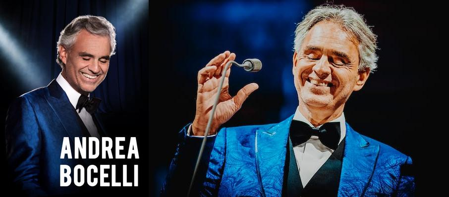 Andrea Bocelli at Chase Center