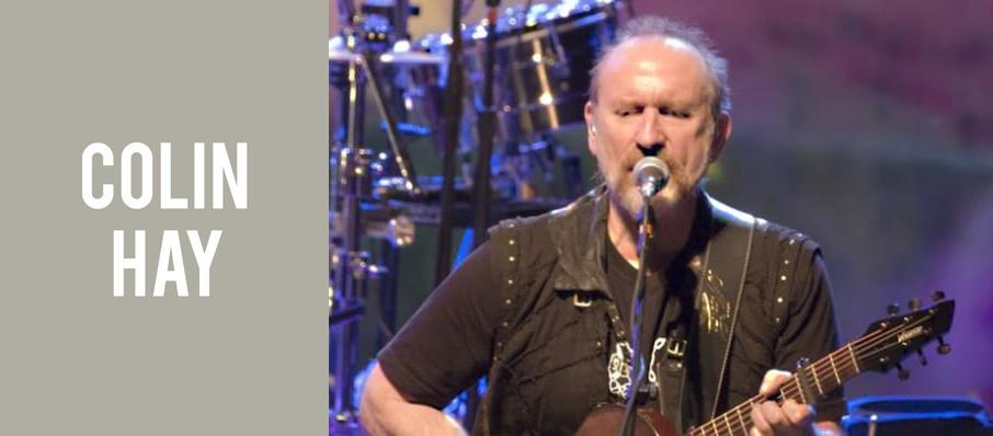 Colin Hay at Palace of Fine Arts