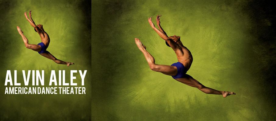 Alvin Ailey American Dance Theater at Zellerbach Hall
