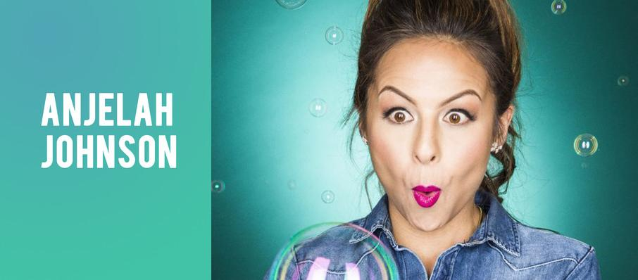 Anjelah Johnson at Cobbs Comedy Club