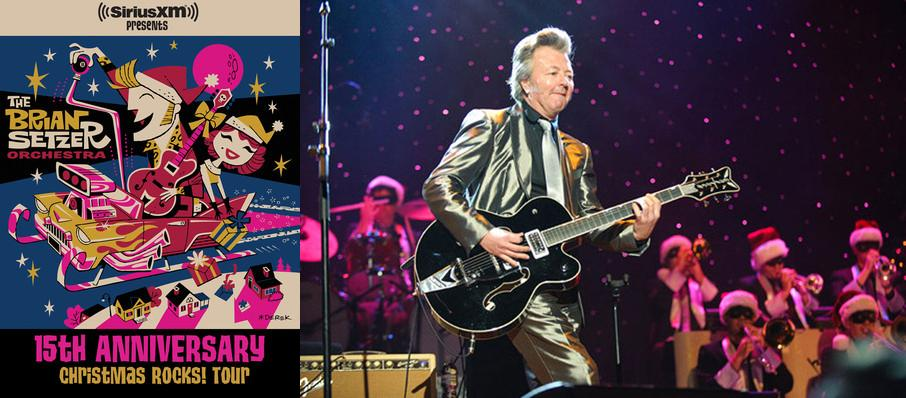 Brian Setzer Orchestra: Christmas Rocks at The Warfield