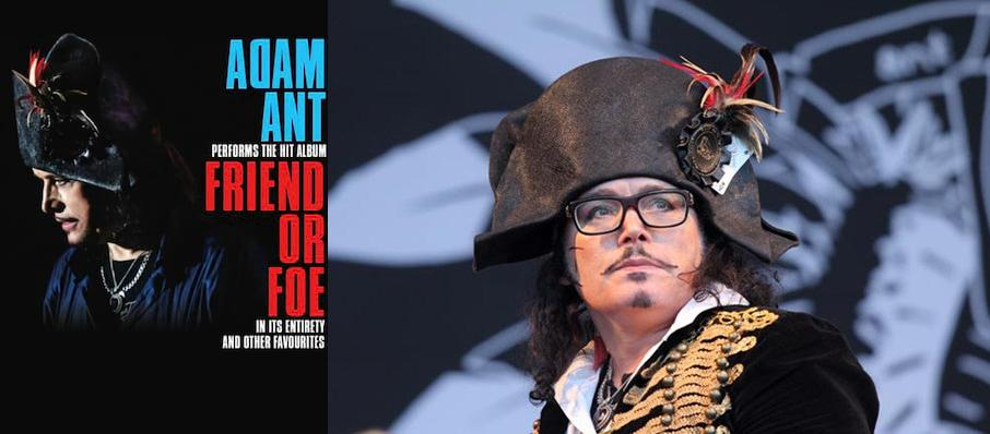 Adam Ant at The Fillmore