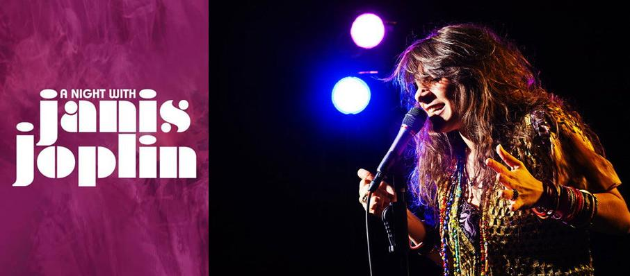 A Night with Janis Joplin at Ruth Finley Person Theater