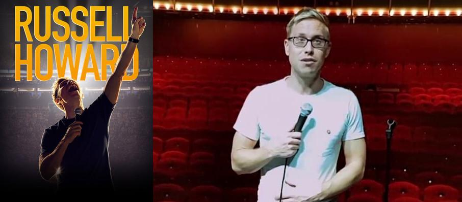 Russell Howard at Cobbs Comedy Club