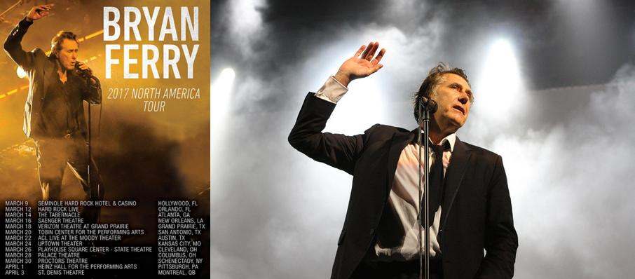 Bryan Ferry at Fox Theatre Oakland