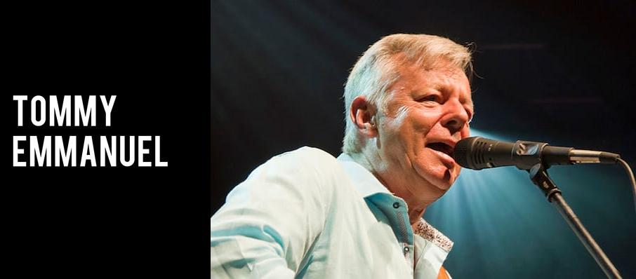Tommy Emmanuel at Great American Music Hall