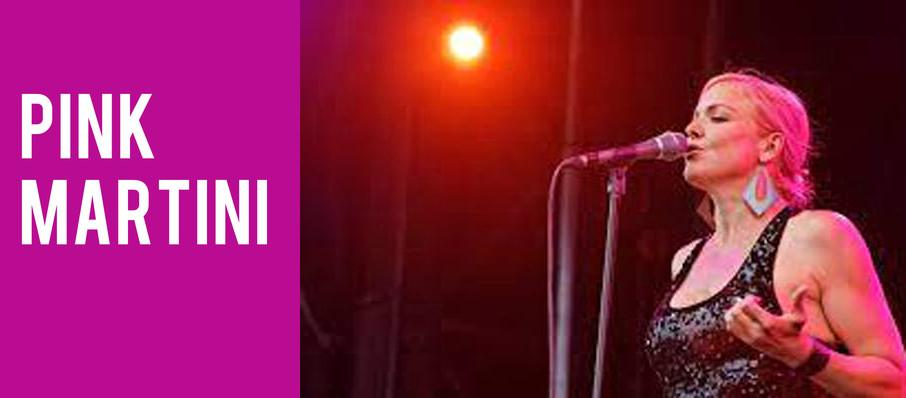 Pink Martini at Davies Symphony Hall