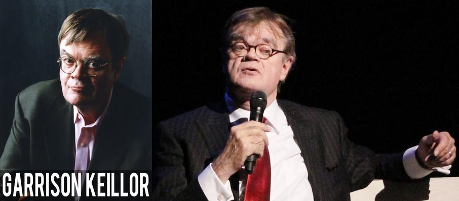 Garrison Keillor at Zellerbach Hall