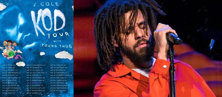 J. Cole at Oracle Arena