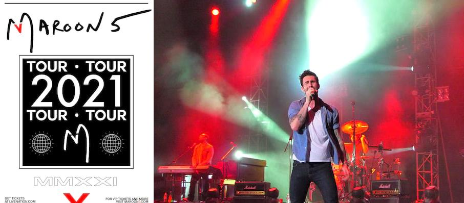 Maroon 5 at Concord Pavilion