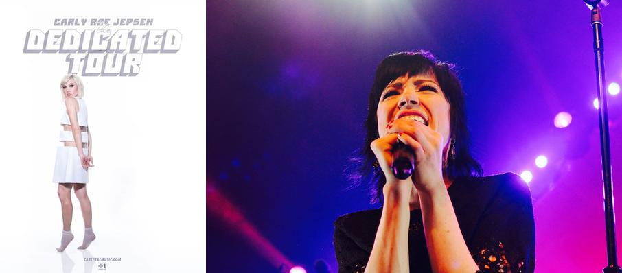 Carly Rae Jepsen at Bill Graham Civic Auditorium
