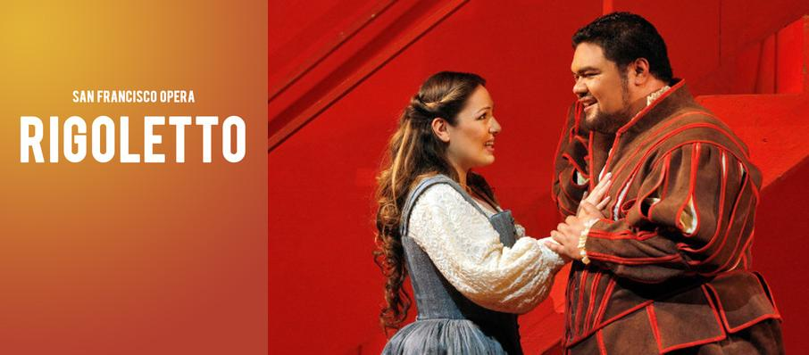 San Francisco Opera: Rigoletto at War Memorial Opera House
