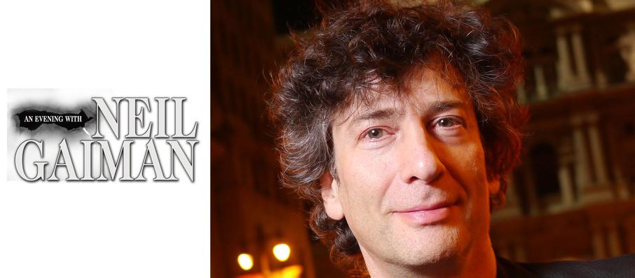 Neil Gaiman at Ruth Finley Person Theater