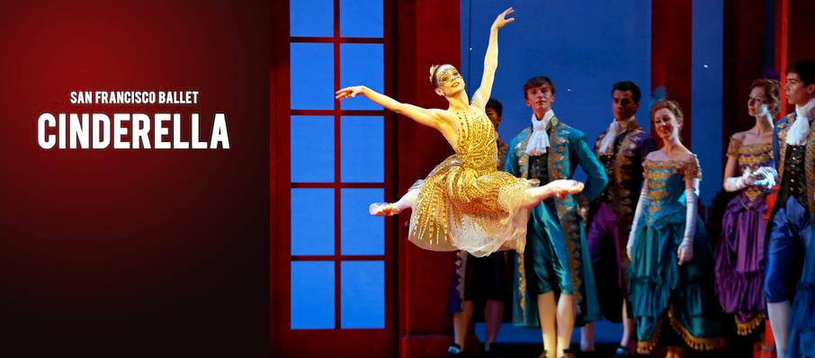 San Francisco Ballet: Cinderella at War Memorial Opera House