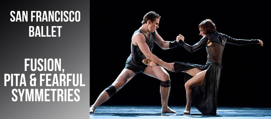 San Francisco Ballet: Fusion Pita & Fearful Symmetries at War Memorial Opera House