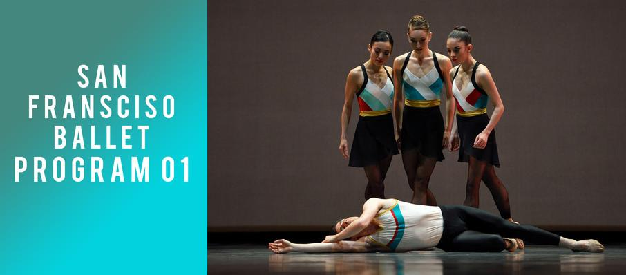 San Francisco Ballet - Program 01 at War Memorial Opera House