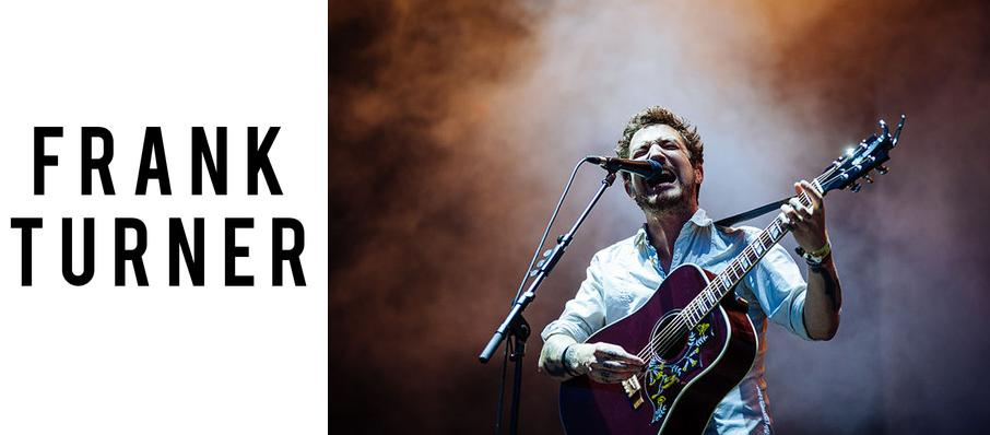 Frank Turner at The Warfield