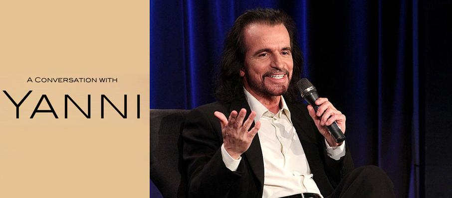 A Conversation With Yanni at Marin Veterans Memorial Center