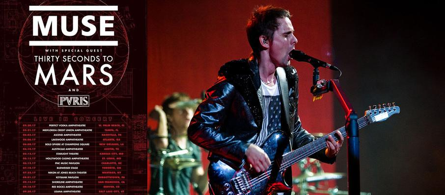 Muse with 30 Seconds to Mars at Shoreline Amphitheatre