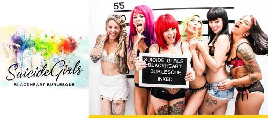 The Suicide Girls: Blackheart Burlesque at The Catalyst