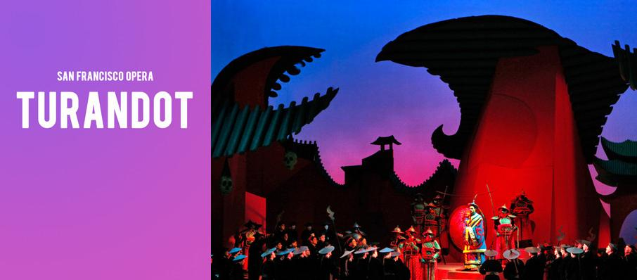 San Francisco Opera - Turandot at War Memorial Opera House