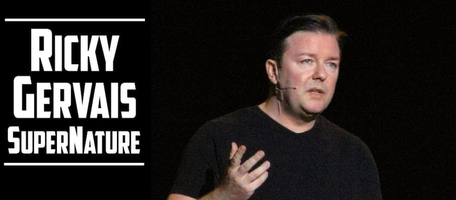 Ricky Gervais at Nob Hill Masonic Center