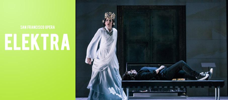 San Francisco Opera - Elektra at War Memorial Opera House