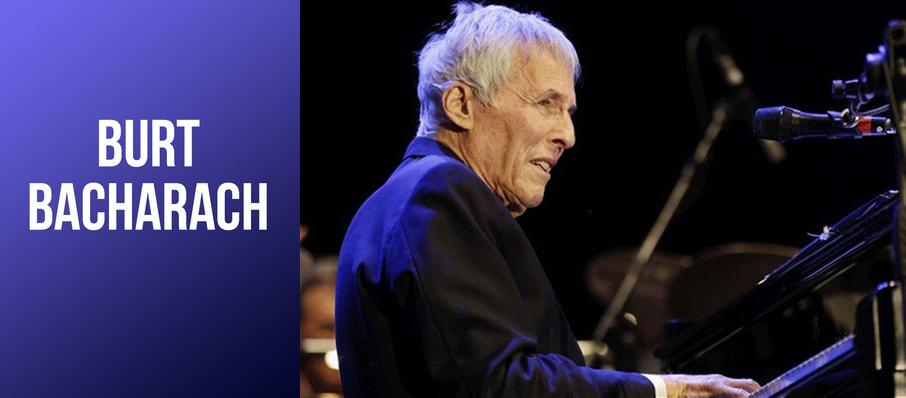 Burt Bacharach at Davies Symphony Hall