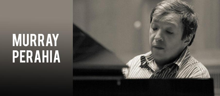 Murray Perahia at Davies Symphony Hall