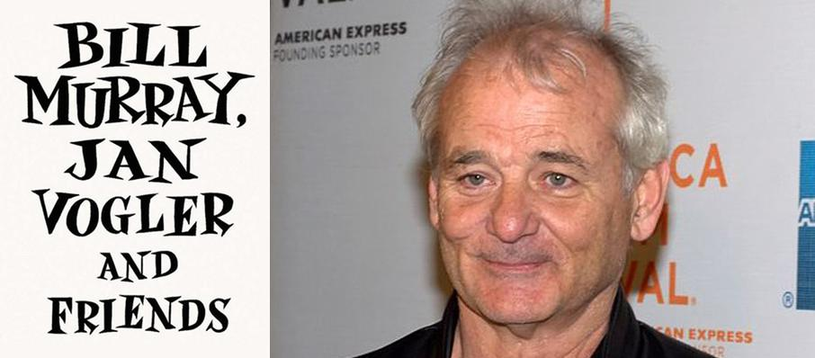 Bill Murray, Jan Vogler and Friends at Nob Hill Masonic Center