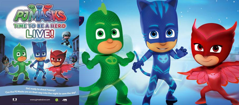 PJ Masks Live! Time To Be A Hero at Ruth Finley Person Theater