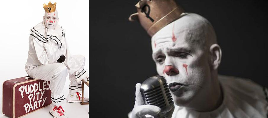 Puddles Pity Party at Palace of Fine Arts