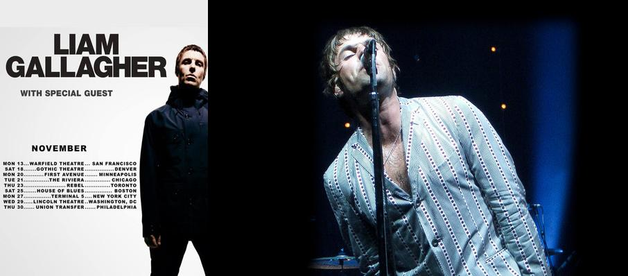 Liam Gallagher at The Warfield