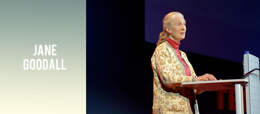Jane Goodall at Nourse Theatre