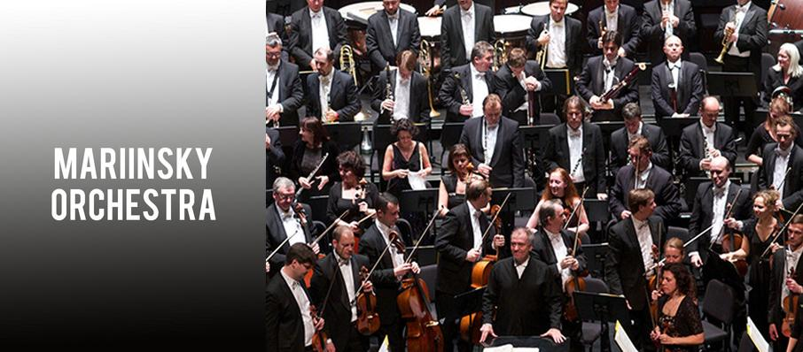 Mariinsky Orchestra at Zellerbach Hall