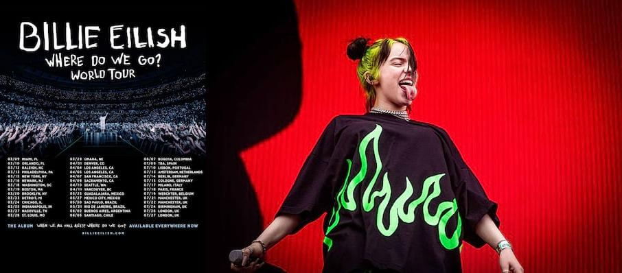 Billie Eilish at Bill Graham Civic Auditorium