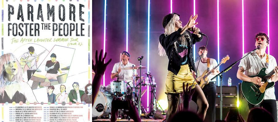 Paramore with Foster The People at Shoreline Amphitheatre