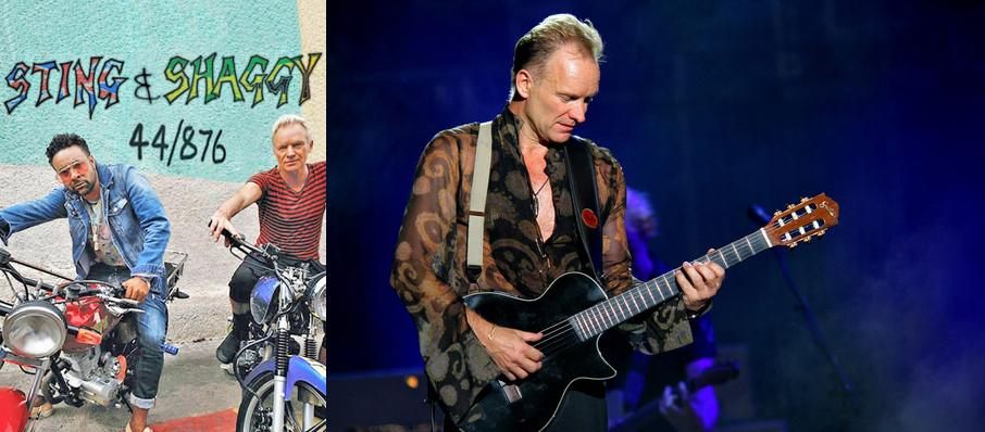 Sting with Shaggy at Nob Hill Masonic Center