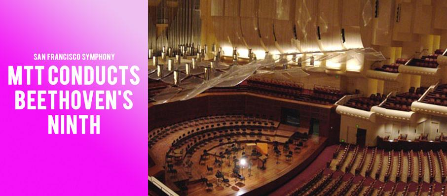 San Francisco Symphony - MTT Conducts Beethovens Ninth at Davies Symphony Hall