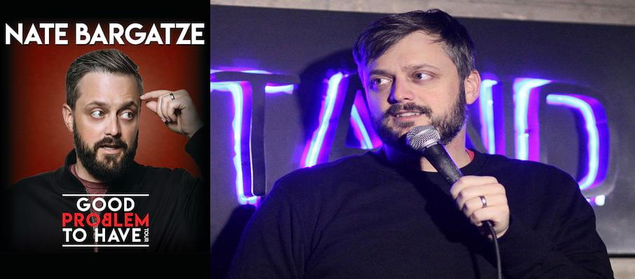 Nate Bargatze at Sydney Goldstein Theater
