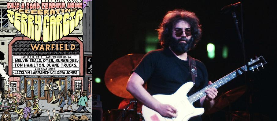 A Tribute to Jerry Garcia at The Warfield
