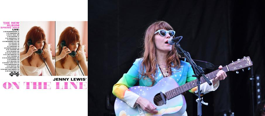 Jenny Lewis at Fox Theatre Oakland