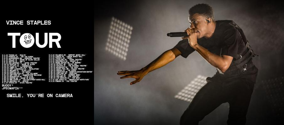 Vince Staples at The Warfield