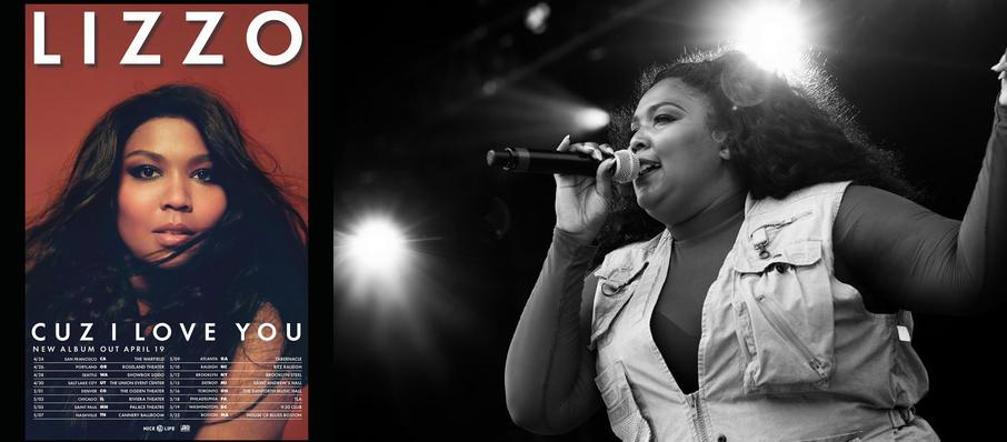 Lizzo at Bill Graham Civic Auditorium